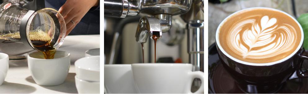 コーヒー/エスプレッソ/ラテ